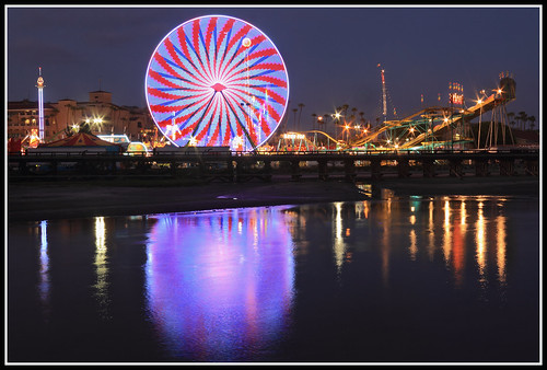 longexposure reflections lights san diego fair ferriswheel delmar sandiegocountyfair