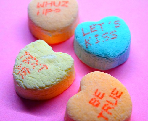 valentine candy macro wishes hearts conversation erjkprunczyk romance