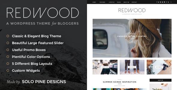 Redwood v1.2 - A Responsive WordPress Blog Theme