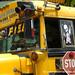 Yellow Chicken Bus - Copan, Honduras