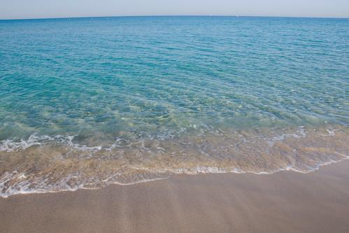 l'azzurro mare del Salento