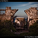 Boat and ruins, Isla Mujeres