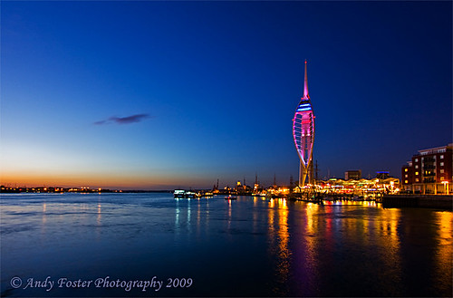 Spinnaker Tower Sept '09