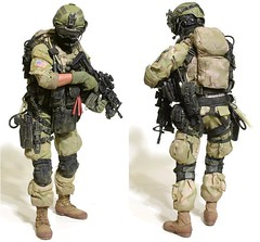 action figure(0.0), toy(0.0), army men(1.0), soldier(1.0), infantry(1.0), person(1.0),