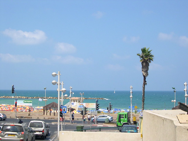 Tel Aviv Beach by upyernoz, on Flickr
