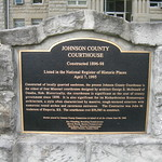 Johnson County Courthouse Marker
