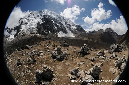 mountain peru trek landscape rocks fisheye dpn salkantay salkantaytrek salcantay