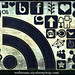 108 High Resolution Dark Denim Social Media Icons by webtreats