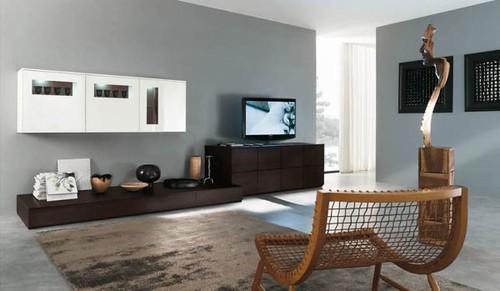 Interieur en design tips op 10 hedendaagse for Main living room designs