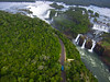 KAP over Iguaçu Falls by Pierre Lesage
