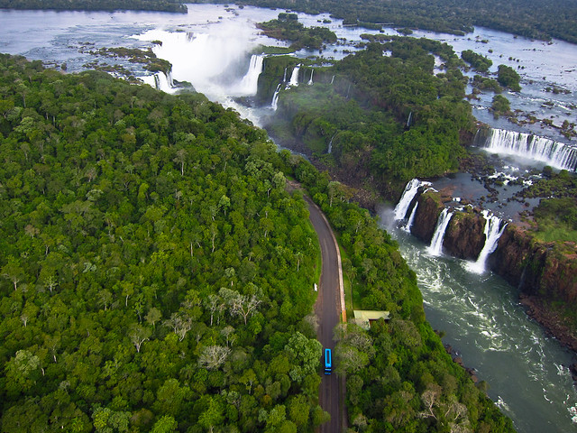 KAP over Iguaçu Falls