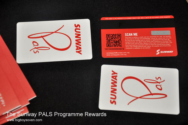 The Sunway PALS Programme Rewards