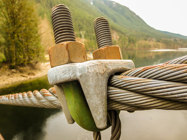 Suspension Bridge Bolt & Cable