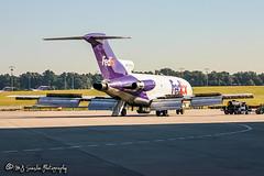 N186FE FedEx | Boeing 727-22(F) | Memphis International Airport