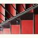 Red steps by Vivien Slopianka