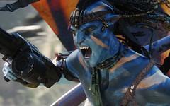 Jake Sully in War Avatar Movie