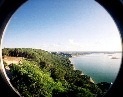 trees sky panorama water austin lomography texas view horizon fisheye shore laketravis fisheyeno2 lomographyfisheyeno2