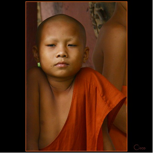 "portrait orange monk cisco laos ritratto luangprabang photographia fivestarsgallery artofimages ""photographia"" bestportraitsaoi elitegalleryaoi"