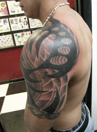 tattoo on arm by miami tattoo shop flickr photo sharing. Black Bedroom Furniture Sets. Home Design Ideas