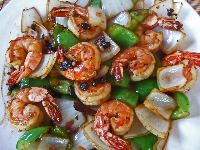 Shrimp with Black Bean