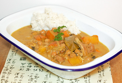 Thai Chicken & Pumpkin Curry