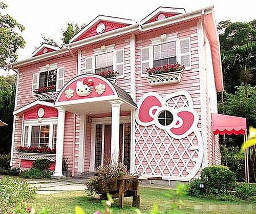 Hello Kitty House In Shanghai Flickr Photo Sharing