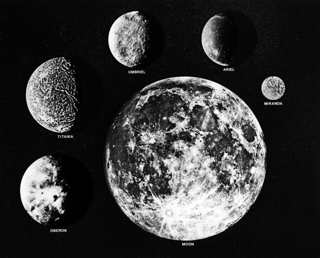 Moons of Uranus and Earth | Flickr - Photo Sharing!