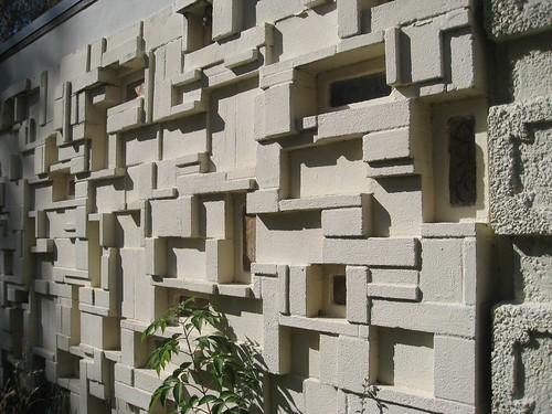 Ouno design patterned concrete blocks on flickr for Besser block pool