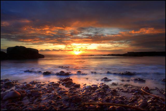Sunrise Auchmithie
