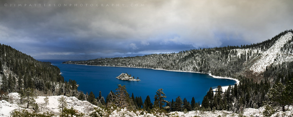 Azure Blue - Emerald Bay, Lake Tahoe, California
