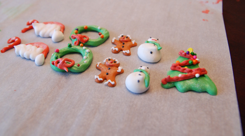 Sugar Cake Decorations For Christmas : Christmas Sugar Decorations Duhlicious