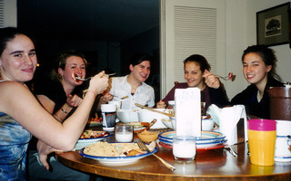 Eating at Ana's 2
