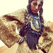 Theda Neckpiece by Anita Quansah London featured in the July 2010 German Vogue