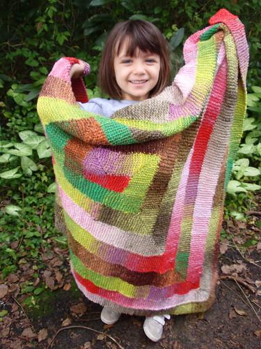 Ten stitch shawl