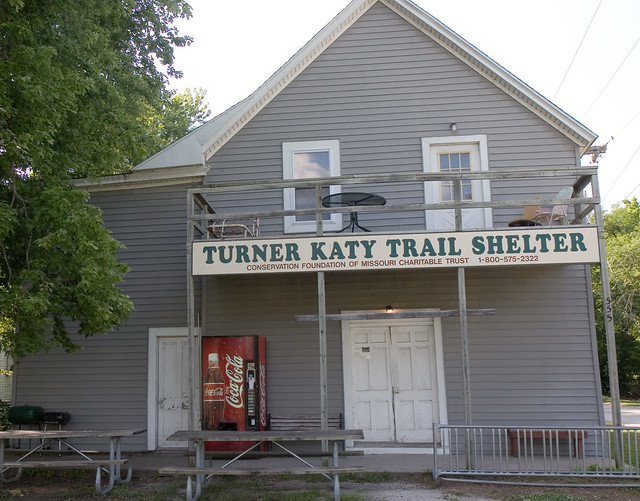 Turner Katy Trail Shelter
