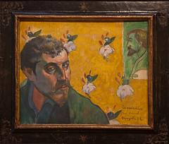 Van Gogh Museum - Paul Gauguin - Self-portrait with portrait of Bernard, 'Les Miserables', 1888