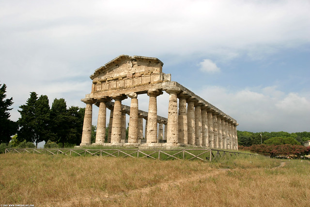 IT07 4082 Temple of Athena, Paestum
