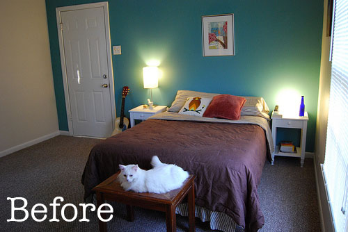 Before redesign mike s bedroom for Redesign bedroom