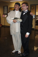 Nobuo Uematsu and Charlie Logan