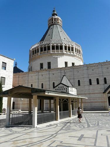 Basilica dell 39 annunciazione nazaret ricarolricecitocororo for Progetta il mio edificio online