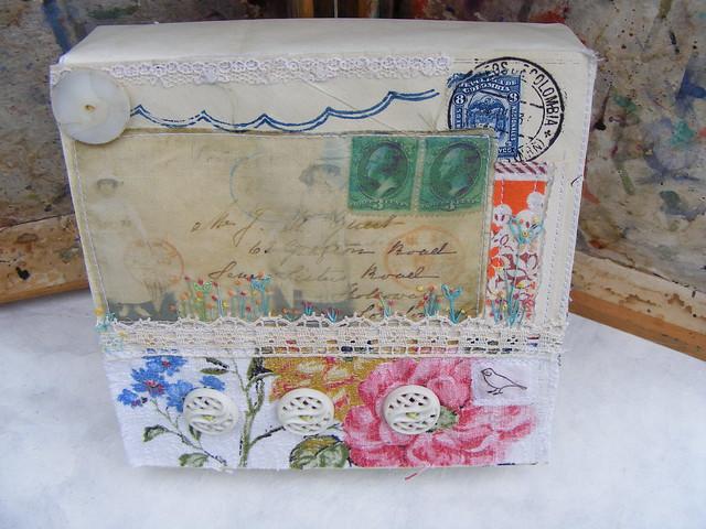 original textile collage # 2