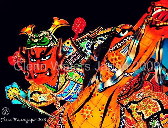 Samurai & Horse. Neputa Festival Japan. © Glenn E Waters. Over  32,000 views to this photo.