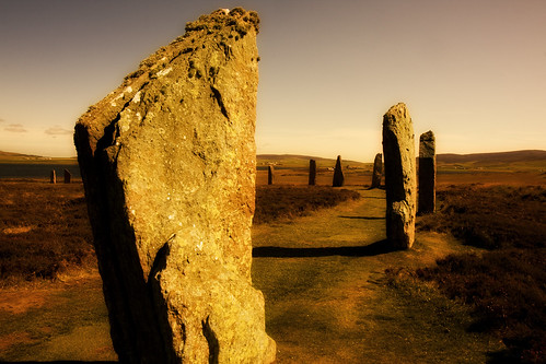 Ring of Brodgar by bluestardrop - Andrea Mucelli