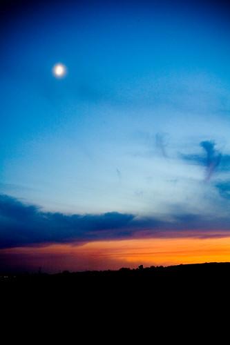 sunset arizona sky phoenix colorful dusk goodyear