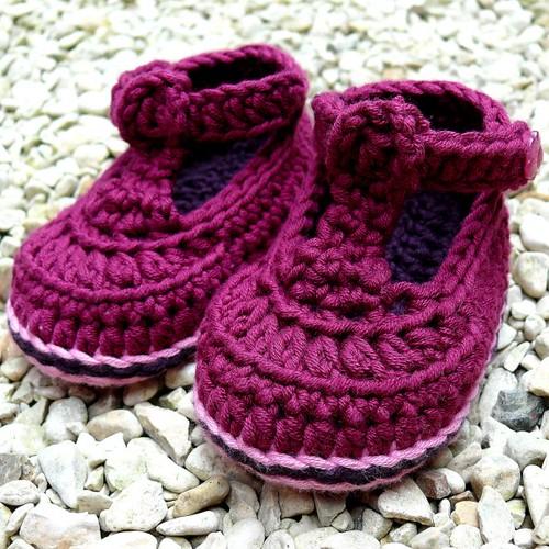 Posh Joe Crochet Baby Bootees 9-12 months Booties Flickr ...