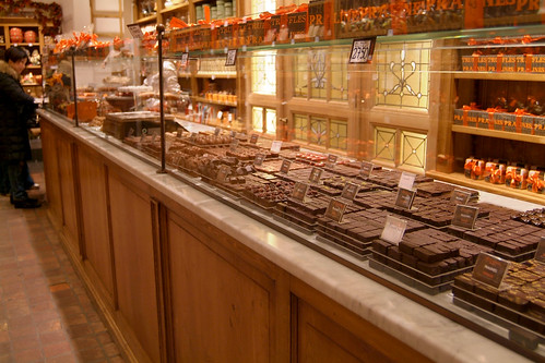 Fantastic Belgian chocolate