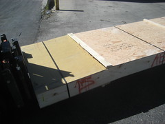 Empennage Crate Damage