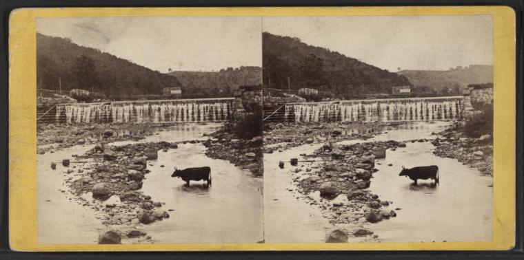 The Dam at Ramapo.