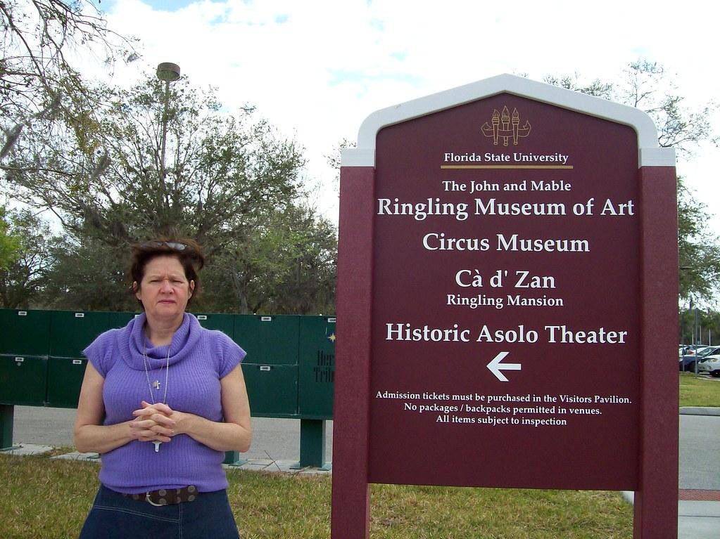 Ethel at Ringling Museum - Sarasota