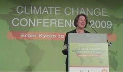 Sen. Amy Klobuchar addresses the conference